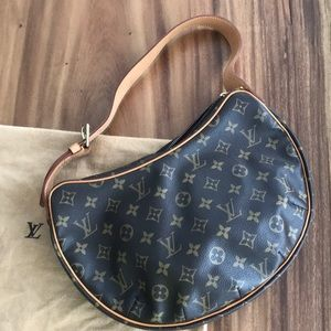 Louis Vuitton Monogram Croissant Purse